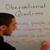 Observational Questions