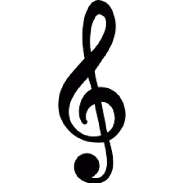 The Notes of the Treble Clef Staff
