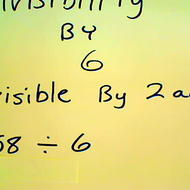 Determining Divisibility by 6