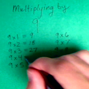 Multiplying by Nine