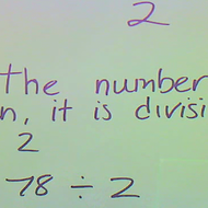 Determining Divisibility by 2