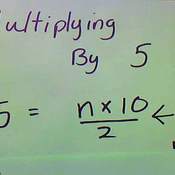 Multiplying by Five