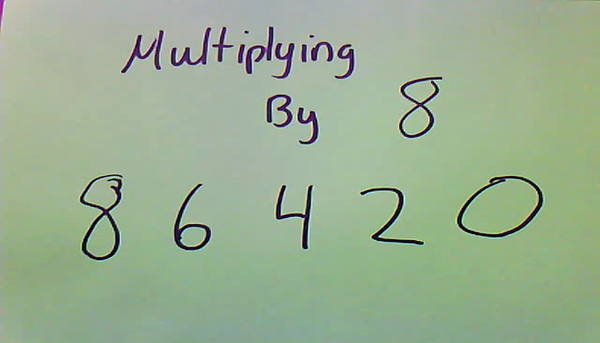 Multiplying by Eight