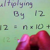 Multiplying by Twelve