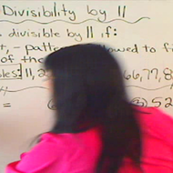 Determining Divisibility by 11