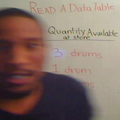Reading a Data Table