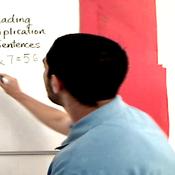 Reading Multiplication Sentences