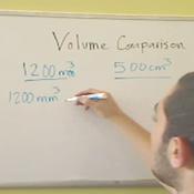 Comparing Volumes