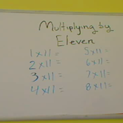 Multiplying by Eleven