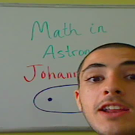 Math in Astronomy