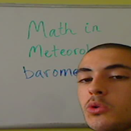 Math in Meteorology