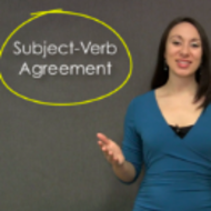 Correcting Errors In Subject-Verb Agreement