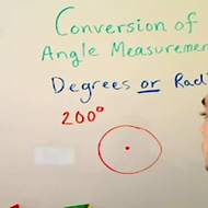 Conversion of Angle Measurement