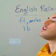 English Rates