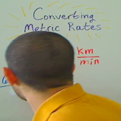 Relating Metric Rates
