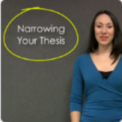 Your Thesis: Too Broad, Too Narrow, or Just Right?