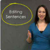 Strategies for Editing Sentences