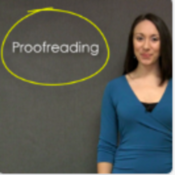 Apply Proofreading Strategies