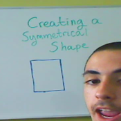 Creating a Symmetrical Shape