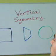 Identifying Vertical Symmetry