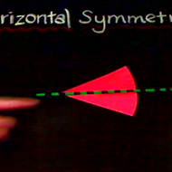 Identifying Horizontal Symmetry
