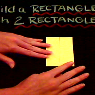 Building a Rectangle with Two Rectangles