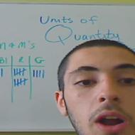 Units of Quantity