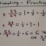 Estimating with Fractions