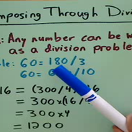 Decomposing through Division