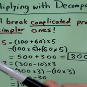 Multiplying with Decomposition