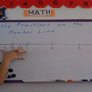 Placing Fractions on the Number Line