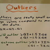 Extreme and Mild Outliers