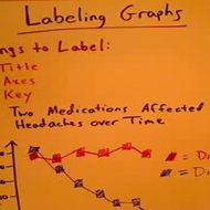 Labeling Data Representations