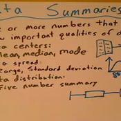 Data Summaries