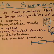 Data Summaries
