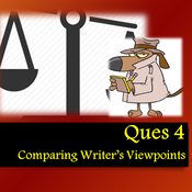 AQA Paper 2 Ques 4  Comparing Writer's Viewpoints