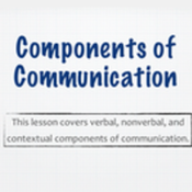 Components of Communication: Verbal, Nonverbal, and Written