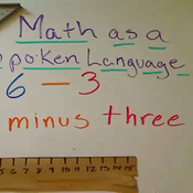 Math as Spoken Language