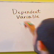 Dependent Variable for Data