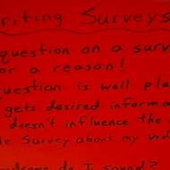 Writing a Survey