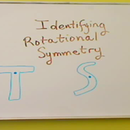 Identifying Rotational Symmetry