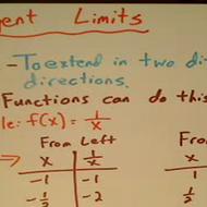Diverging Limits