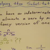 Multiplying to Find an Indeterminate Limit