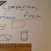 Comparing Surface Area