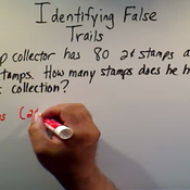 Identifying False Trails