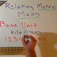 Relating Metric Mass