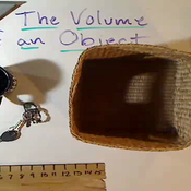 Volume of an Object