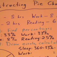 Constructing a Pie Chart