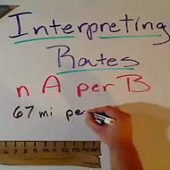 Interpreting Rates