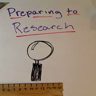 Preparing to Research